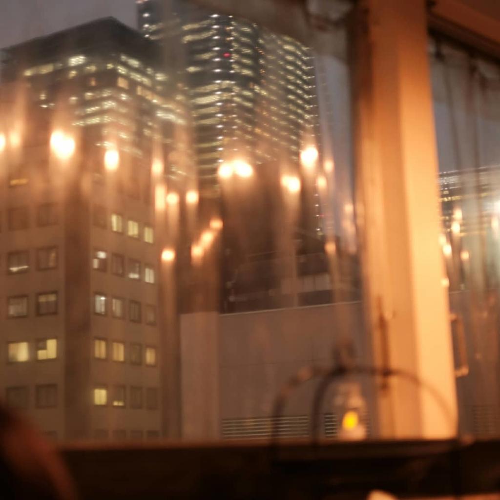 雪ノ下4階からの夜景
