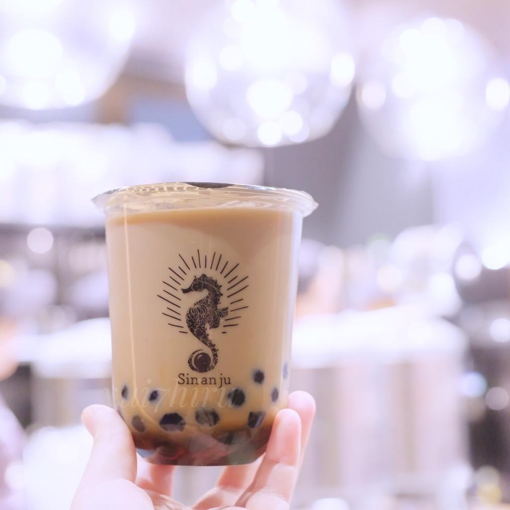 黒糖ほうじ茶タピオカミルクティー
