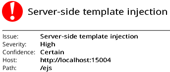 Server-Side Template Injection - DARK MATTER
