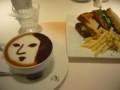 [カフェ]よーじやカフェ 三条店 梅の華サンド