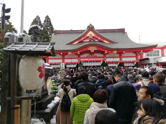 富山山王さん 日枝神社は今年も大盛況でした