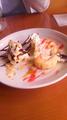 [旅行] 鎌倉「イタリア料理 フィオレ」ランチセットのデザート