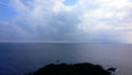 [旅行][屋久島][海][空]尾之間・谷崎鼻から見た屋久島南方の海