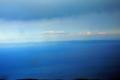 [旅行][屋久島]屋久島、安房林道から。種子島が見える。