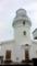 屋久島灯台。台湾航路の活発化に伴って築造された。1897年点灯。