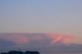 [空][雲]江の島の南かなたに見えた不思議な形の雲