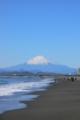 [海][富士山] 相模湾と富士山