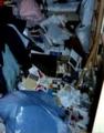 [misc][震災] 1995年1月 阪神・淡路大震災数日後の部屋