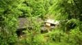 [旅行]日本民家園、長野県の宿場にあった三澤家住宅を見下ろす。