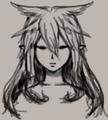 四季美姫が描いたニッケイルハの似顔絵