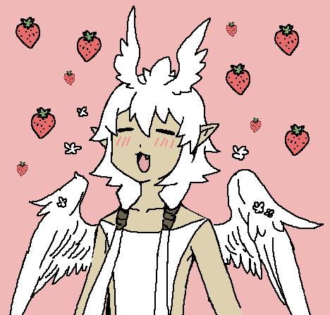 大好物はイチゴ