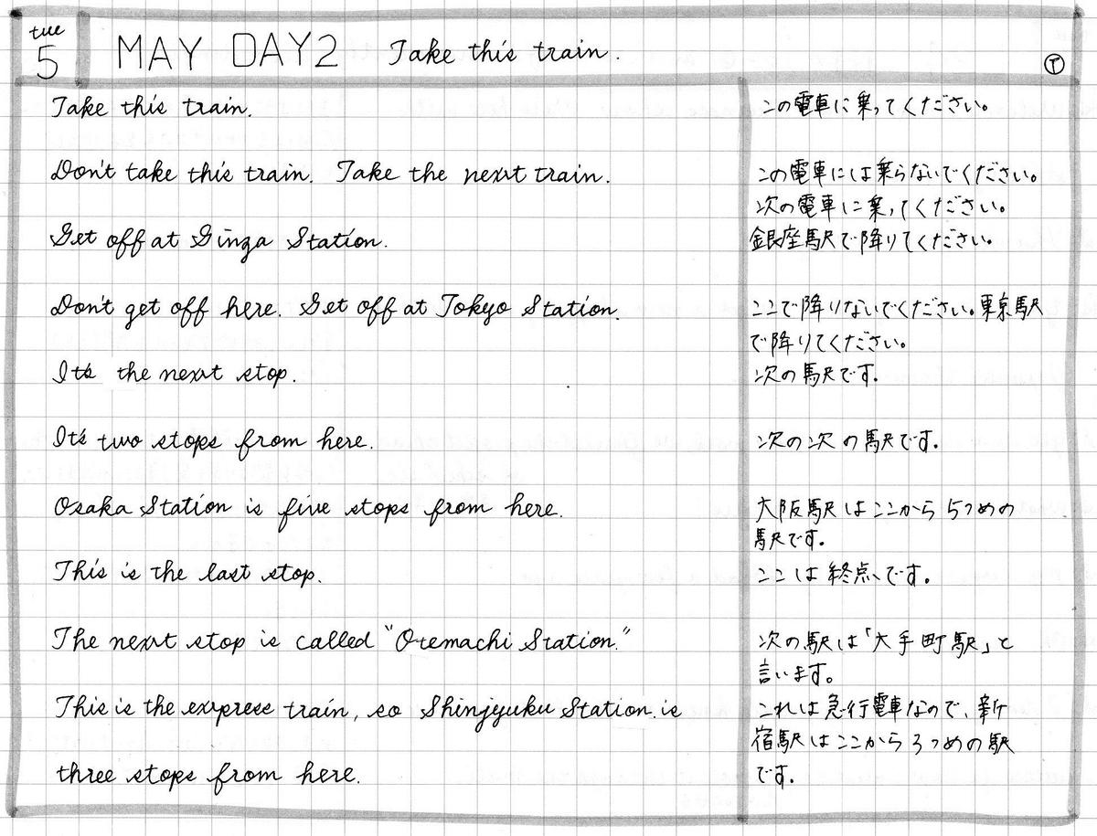 【英会話タイムトライアル】2020年5月5日