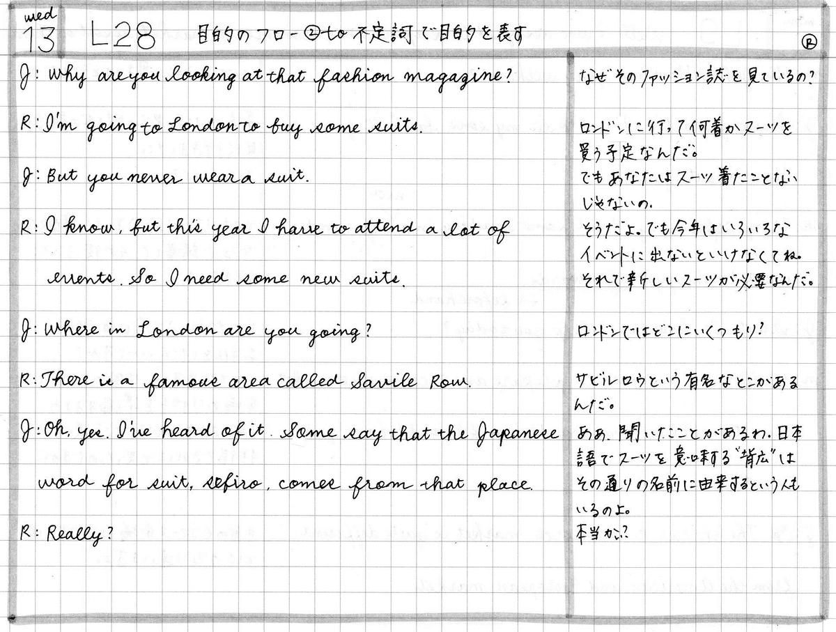 【ラジオ英会話】2020年5月13日