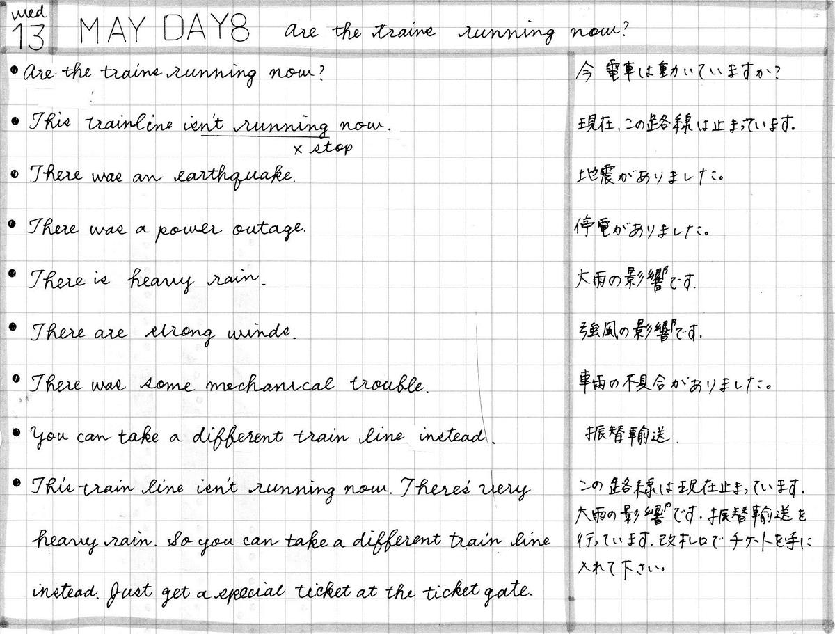 【英会話タイムトライアル】2020年5月13日
