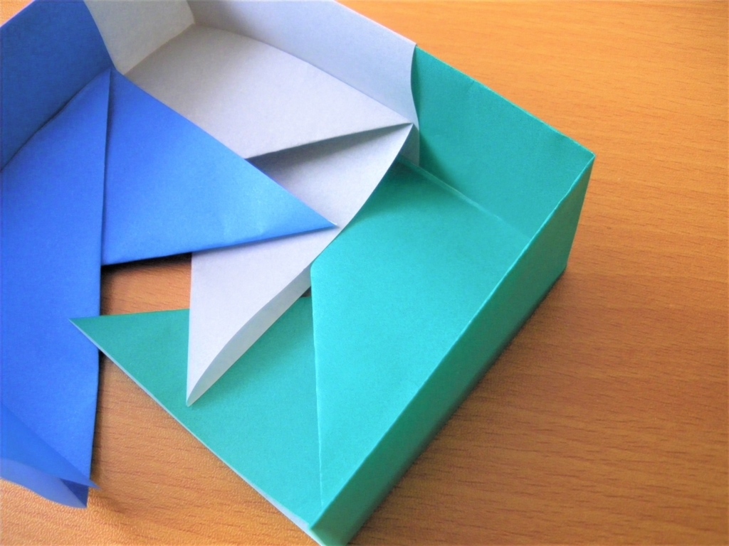 3つ目の箱の基本形を組み合わせる画像