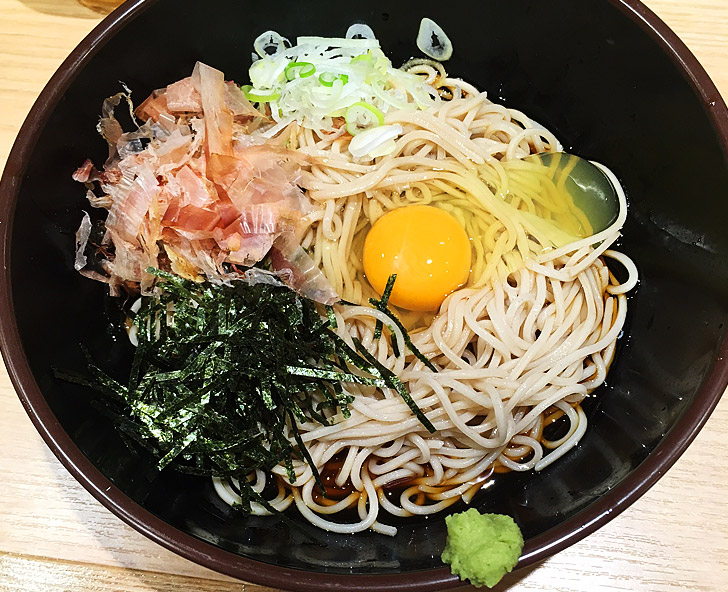 立ち食い蕎麦「そばる」JR札幌店が美味い!