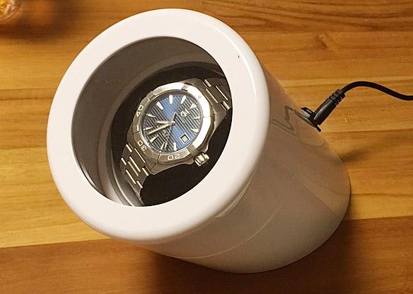 ベルソス ワインディングマシーン(自動巻き上げ機)が良い感じ!自動巻の腕時計におすすめ!