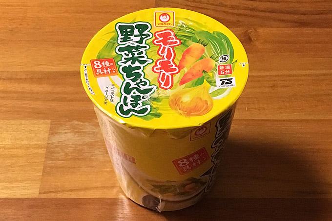 モリモリ野菜ちゃんぽん 食べてみました!8種類もの野菜がモリモリ入った濃厚なちゃんぽん!
