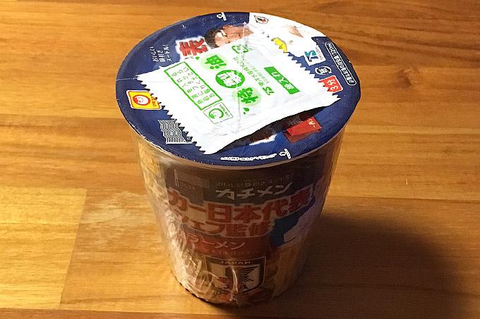 カチメン サッカー日本代表専属シェフ監修 醤油ラーメン 食べてみました!特製ガーリックオイルが決め手のコク深い一杯!