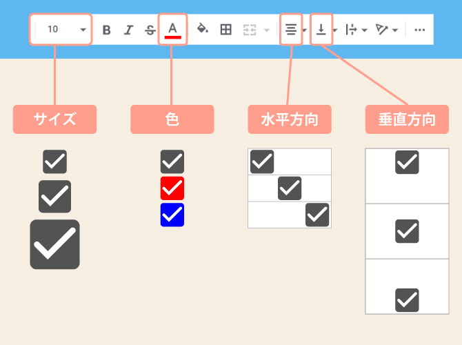 spreadsheet checkbox edit