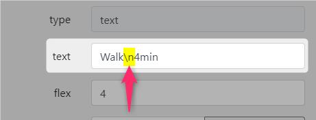 line messaging api flex message