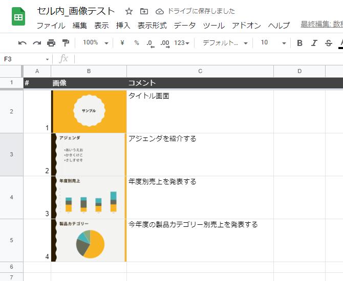 Google Spreadsheet insert image in cell