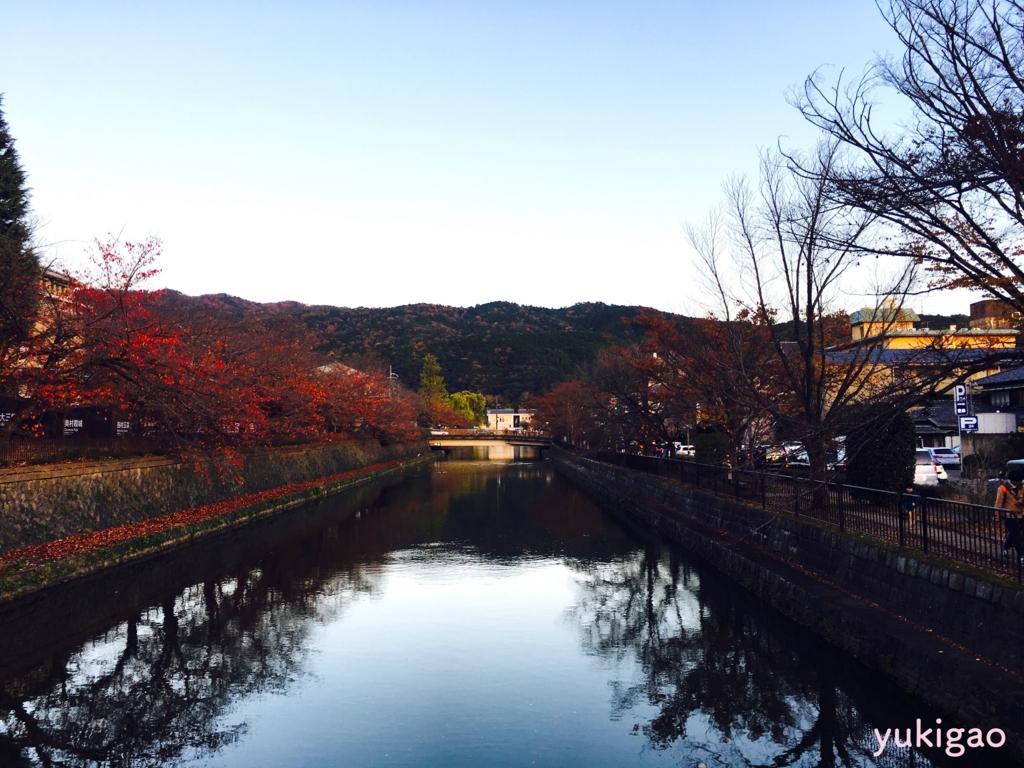 京都の秋の紅葉