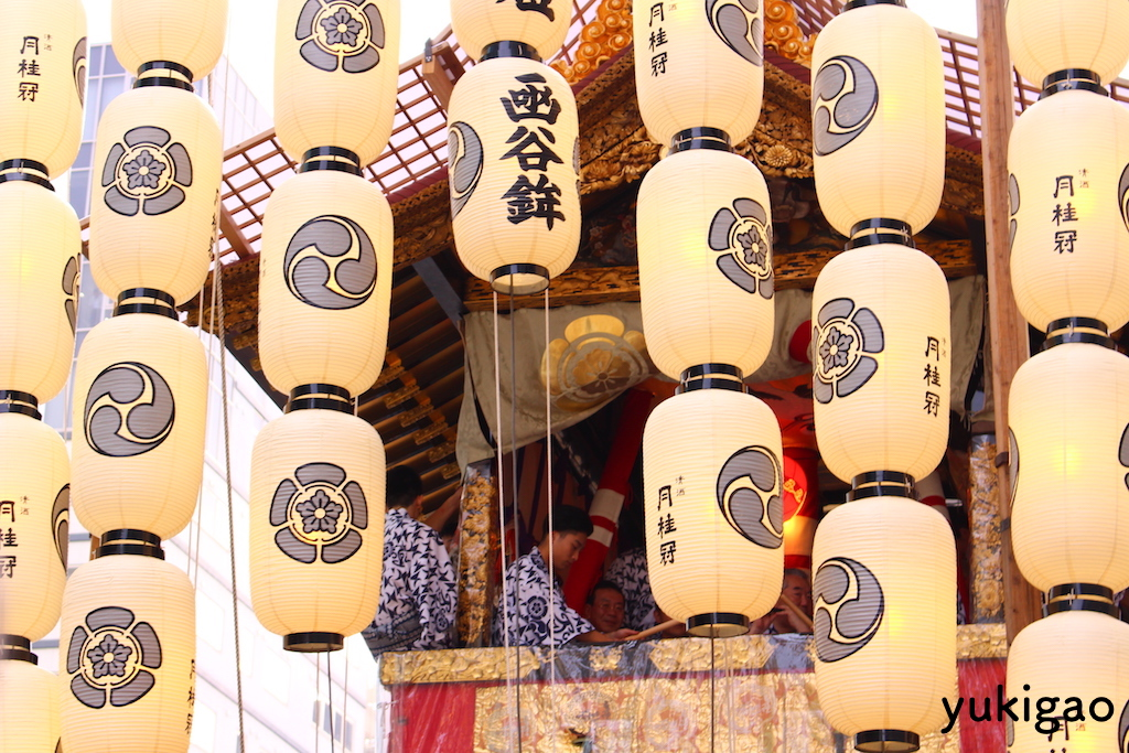 京都・祇園祭の鉾
