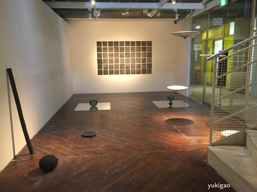 京都にあるギャラリーの展示