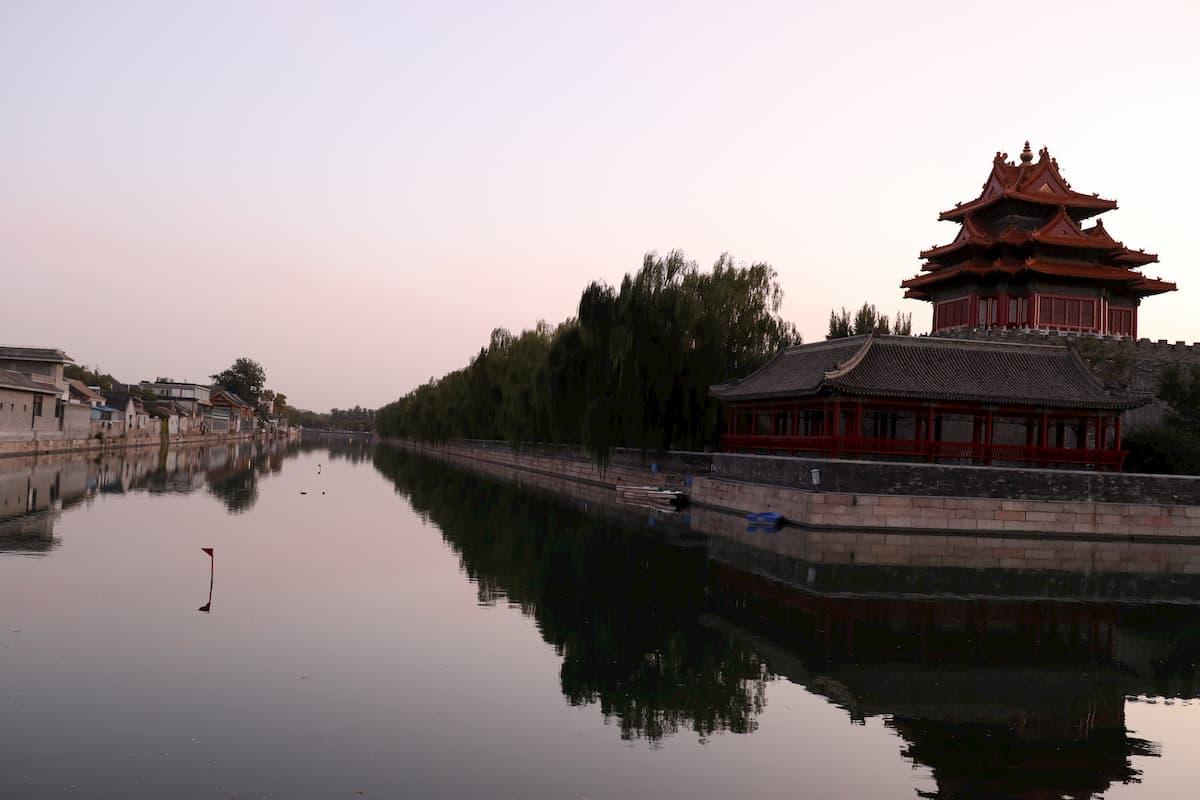 sunset-gugong