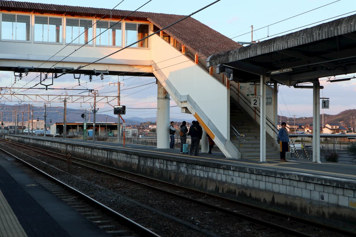 kiyone-station-platform