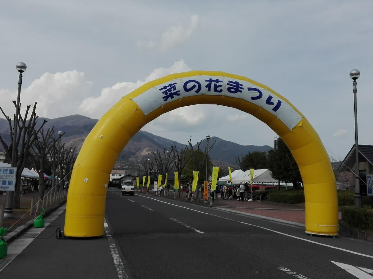 Nanohana-festival-gate