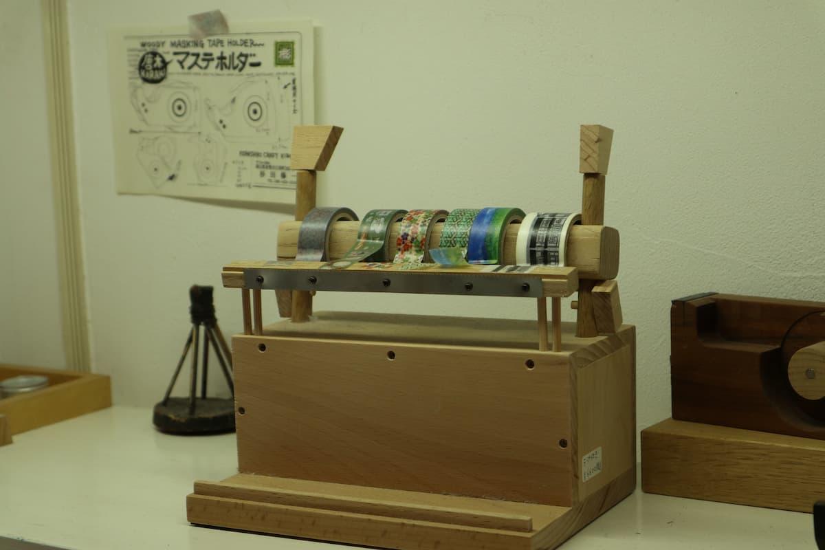 antique-masking-tape-holder
