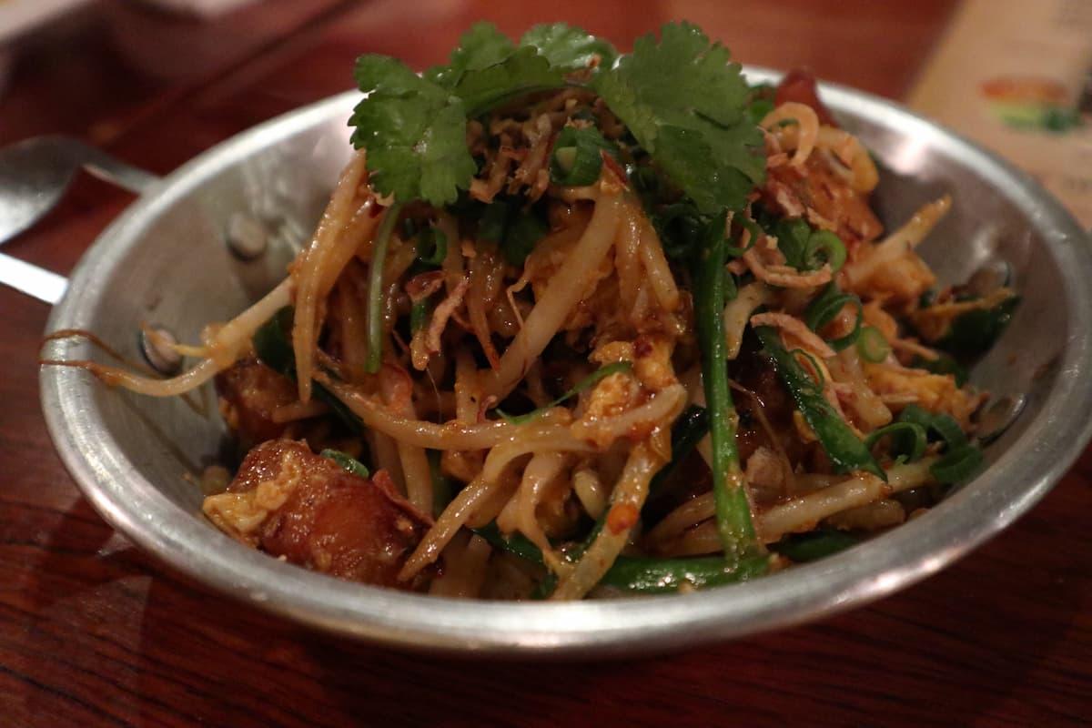 LAO PASAの大根餅の炒め物