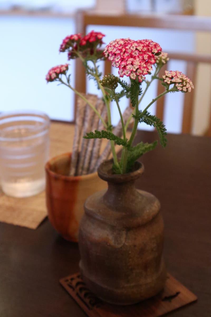 備前焼の花瓶