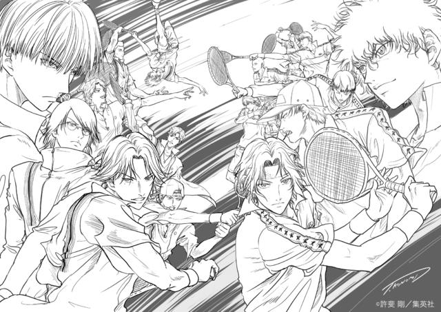 """ファン待望の戦いがここに…‼新テニスの王子様 氷帝vs立海 Game of Future""""制作決定‼ 許斐先生神すぎる🙏🙏🙏"""
