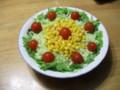 [ハイク][食べ物]サラダ。初めてEXLIMで撮った写真。