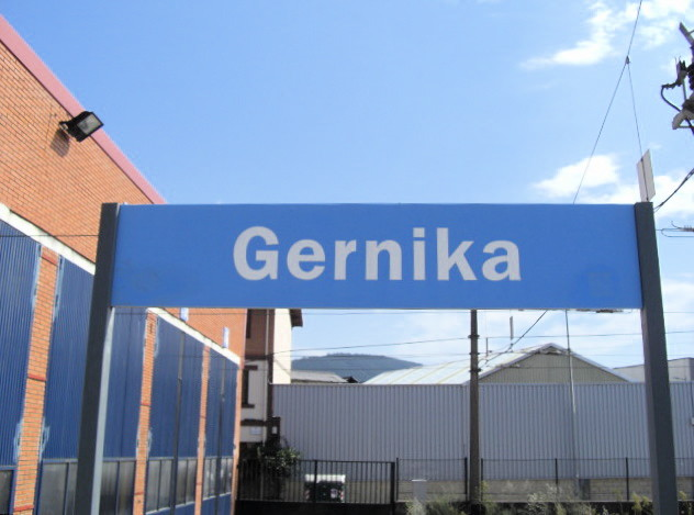 EuskoTrenのゲルニカ駅