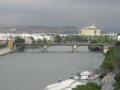 [スペイン]セビージャの黄金の塔から眺める、グアダルキビル川