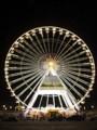 [フランス][風景写真]パリのコンコルド広場の観覧車