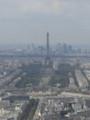 [フランス]モンパルナスタワーから見たエッフェル塔