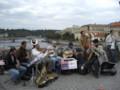 [チェコ]カレル橋の上の楽隊