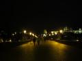 [チェコ]夜のカレル橋