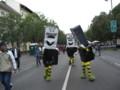 [ハンガリー]マスコット@ブダペストのアンドラーシ通りでの歩行者天国