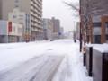 [風景写真]札幌の雪景色
