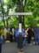 ベルリンの壁を越えようとした人の十字架。