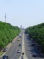 [ドイツ][風景写真]ブランデンブルク門とテレビ塔