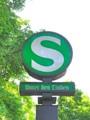 [風景写真][ドイツ]ベルリンのSバーンの標識