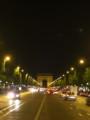 [フランス]夜のシャンゼリゼ通り