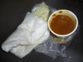 [食べ物]サマナラ・フクダ電子アリーナ店のチキンキーマカレーとナン